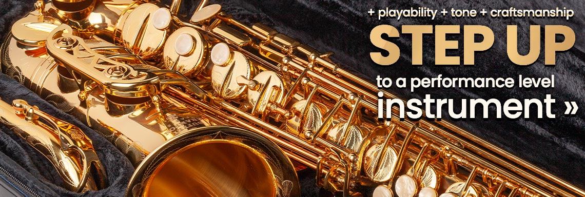 Better Playability, Tone, and Craftsmanship - Step Up to an Intermediate Instrument Today