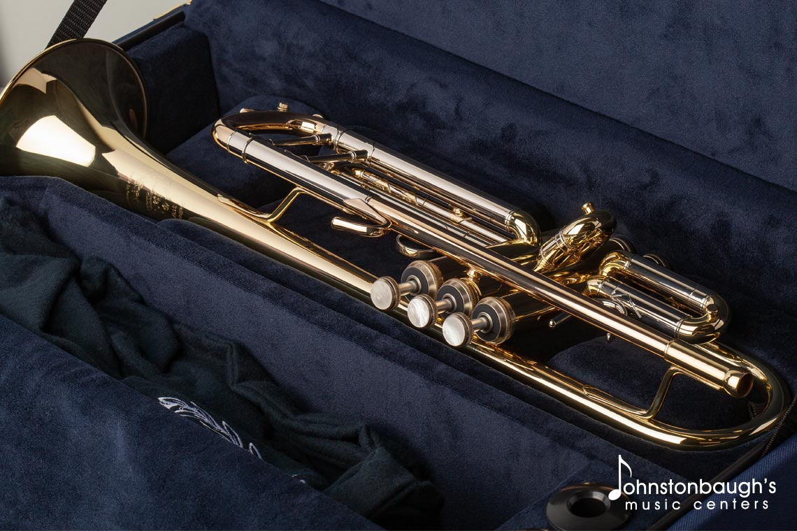 Full Image of B&S 3137 Challenger I professional trumpet from Johnstonbaugh's Music Centers in Western PA