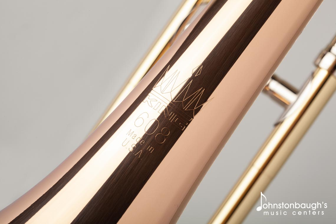 Detailed Feature Image of King 608F Tenor Trombone from Johnstonbaugh's Music Centers in Western PA
