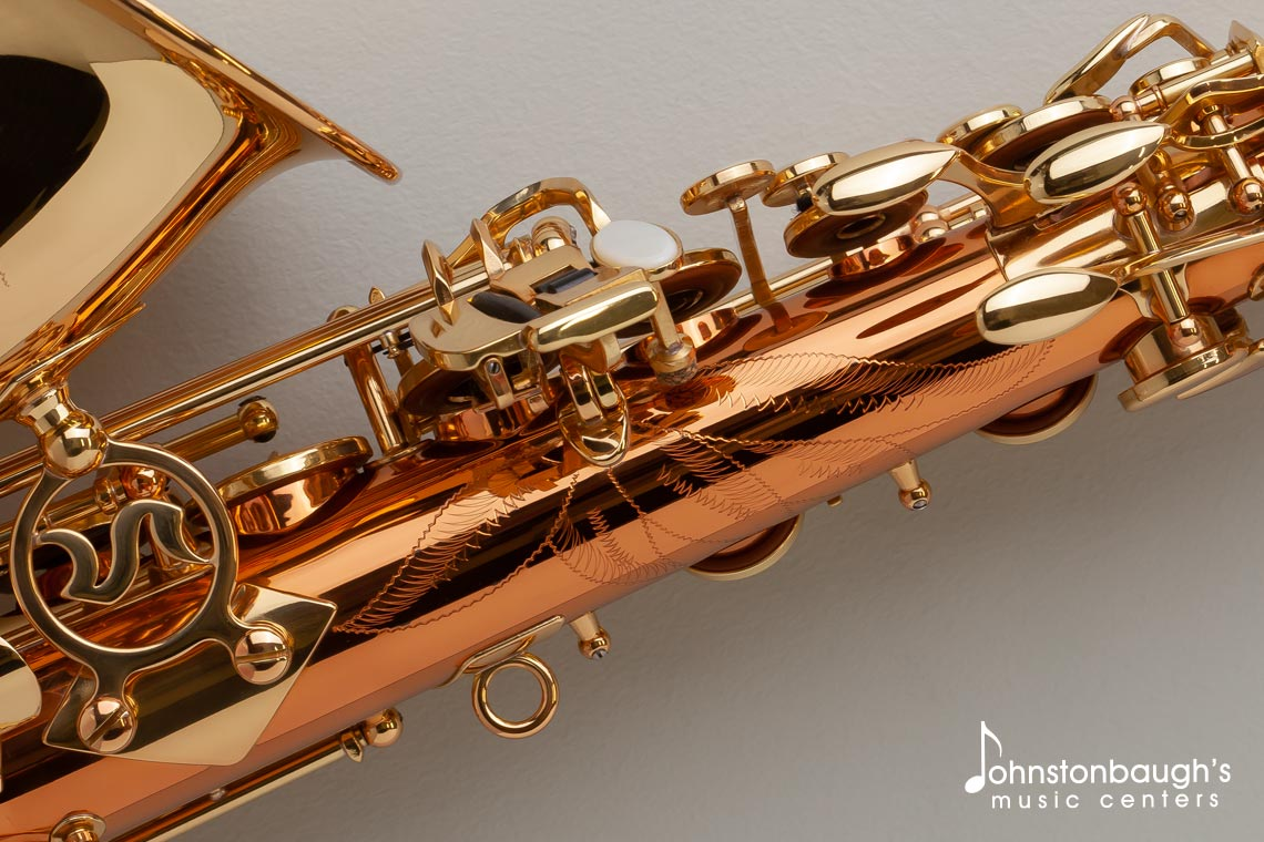 Detailed Feature Image of Selmer La Voix II Alto Saxophone from Johnstonbaugh's Music Centers in Western PA