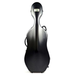 Bam 1001SW Cello Case w/Wheels Black