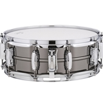 Ludwig Black Beauty Snare Drum 5x14 Smooth Shell, Imperial Lugs [CONCERT SNARE]