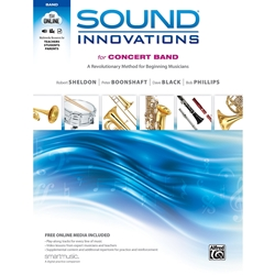 Sound Innovations for Concert Band, Book 1 [B-Flat Tenor Saxophone]