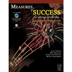Measures of Success for String Orchestra Book 1 - Bass