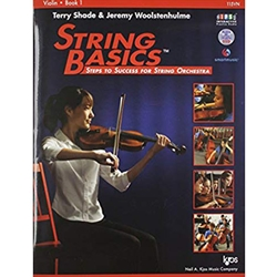 String Basics Steps to Success Book 1 - Violin