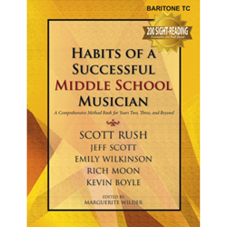 Habits of a Successful Middle School Musician - Baritone TC