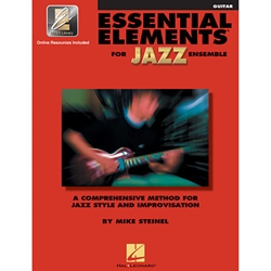 Essential Elements for Jazz Ensemble - Guitar
