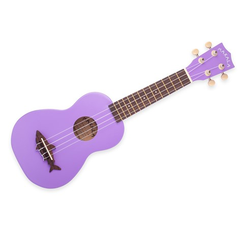 Kala Ukulele Sea Urchin Purple Soprano Satin